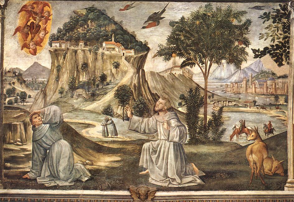 Stigmata Of St Francis By Ghirlandaio Domenico