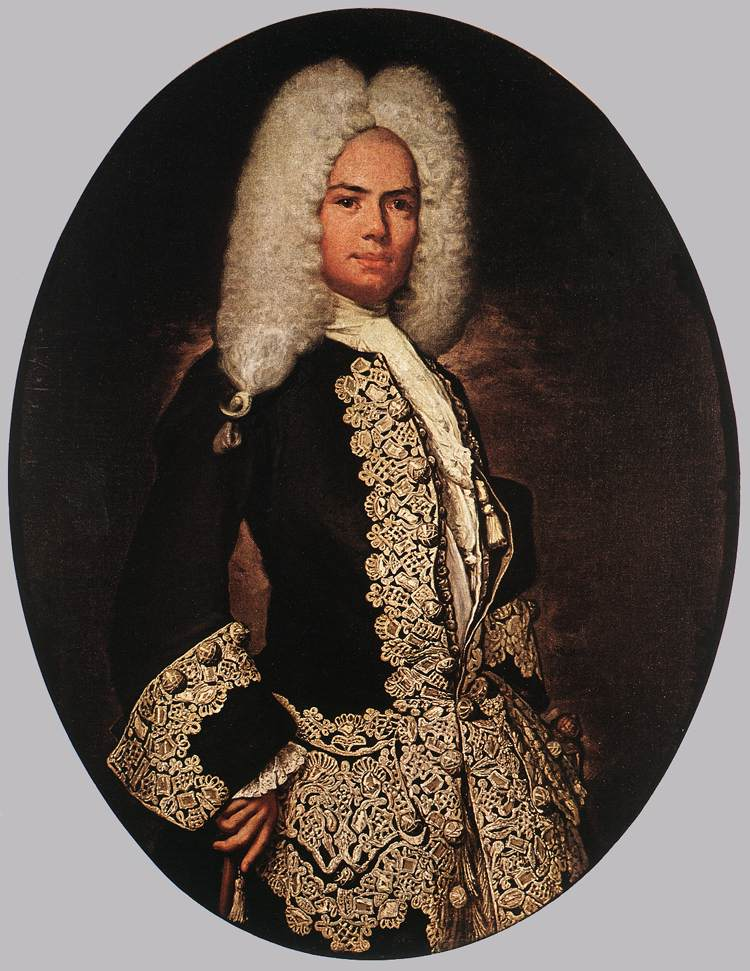 Мужская прическа в 17 веке
