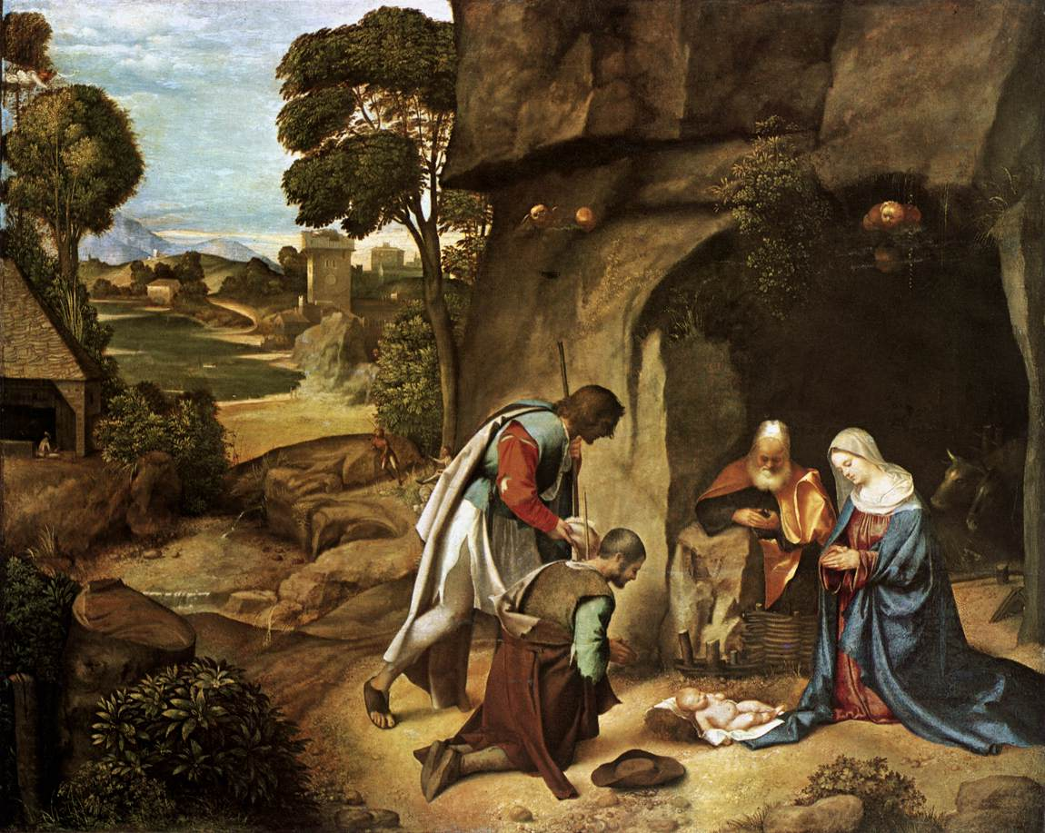 The lives of the saints in art images of the nativity part 2 for El mural de anuncios