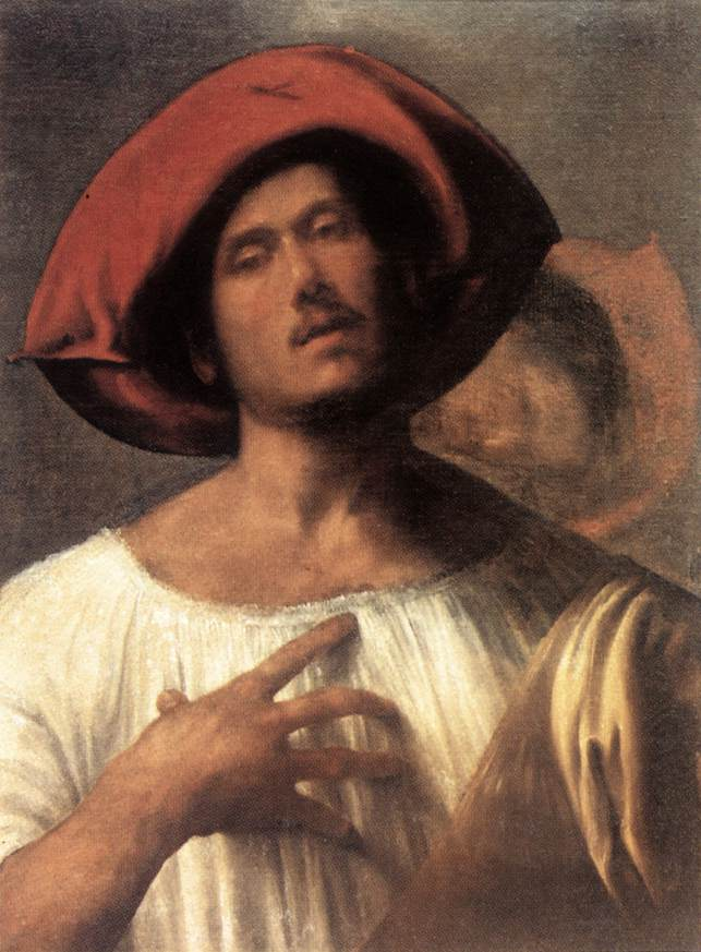 the impassioned singer by giorgione