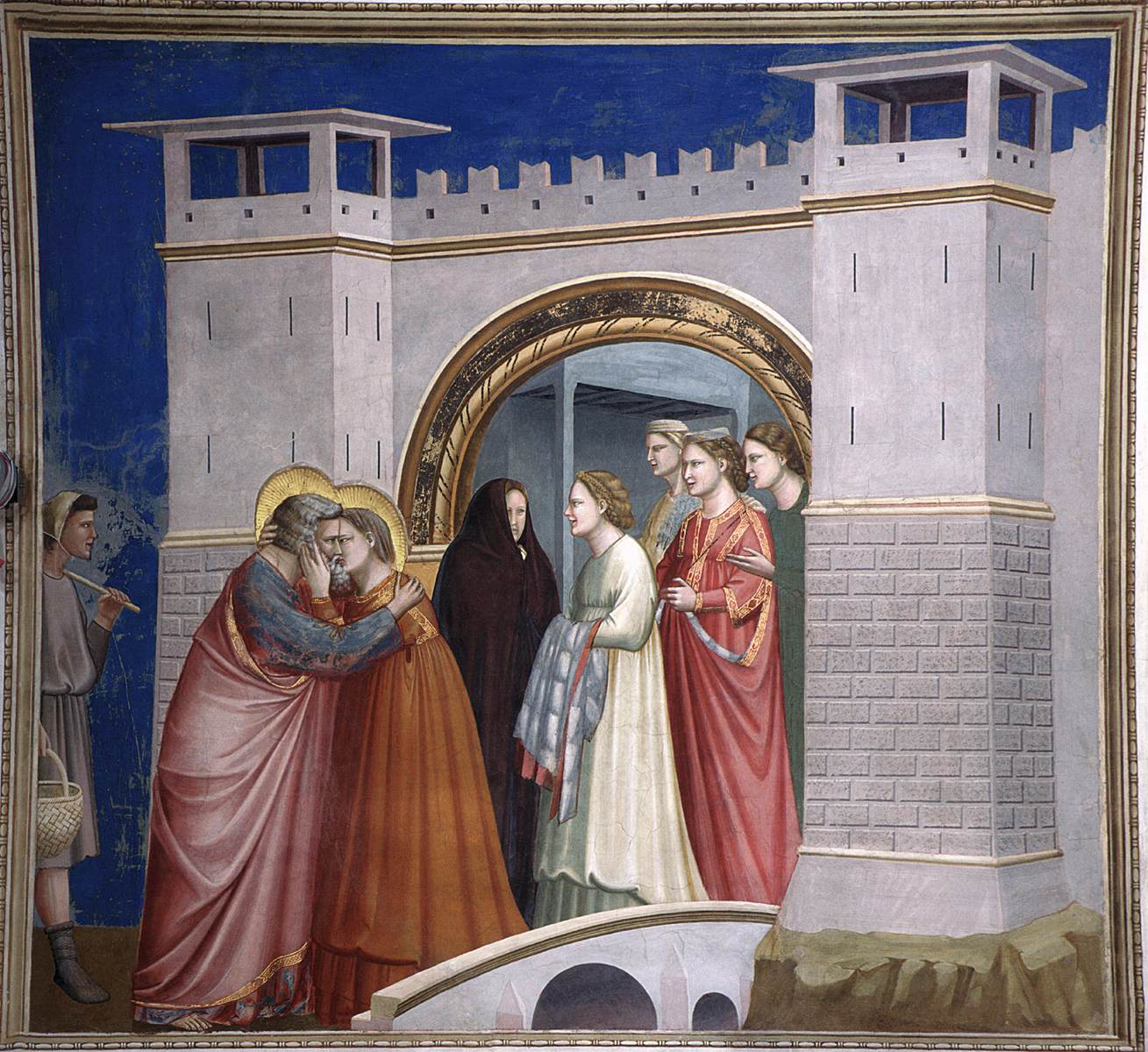 No. 6 Scenes from the Life of Joachim: 6. Meeting at the ...  No. 6 Scenes fr...