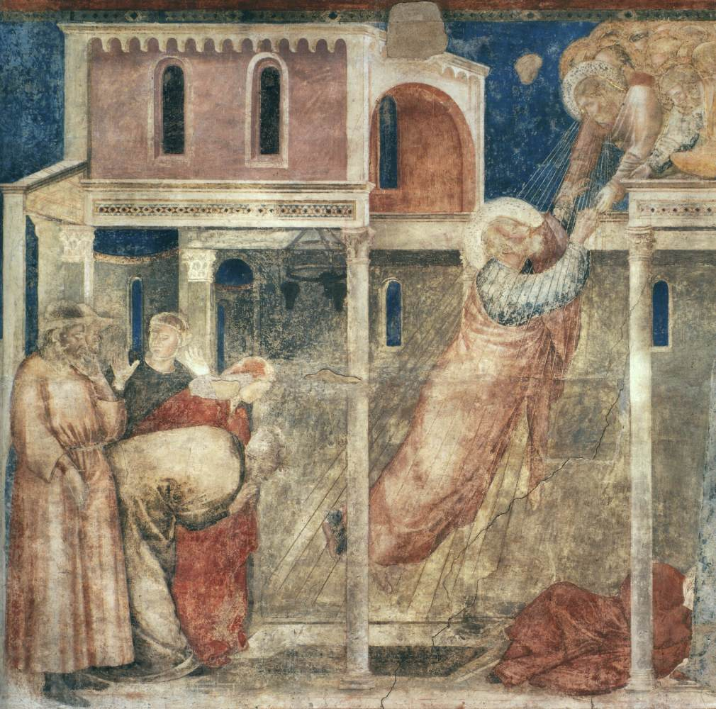 Giotto's Ascension of St John