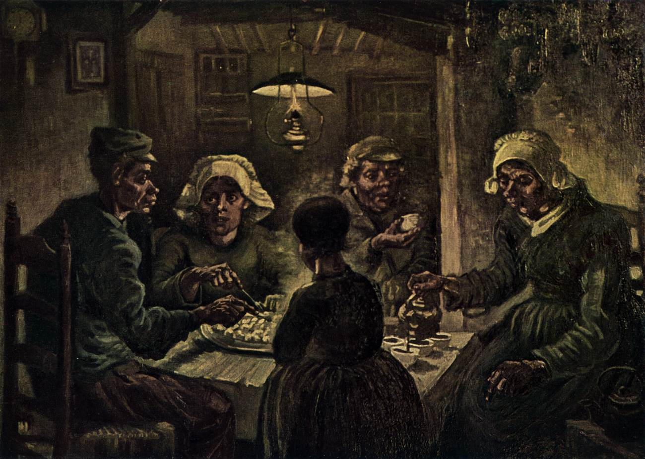 The Potato Eaters (Nuenen, 1885)