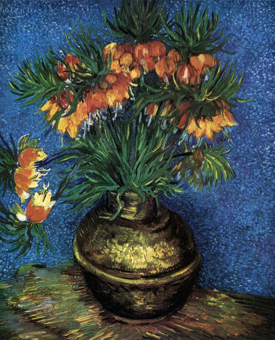 Flower And Other Still Lifes Paris 1886 87