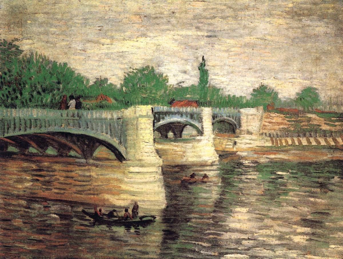 Various Paintings Paris 1886 87