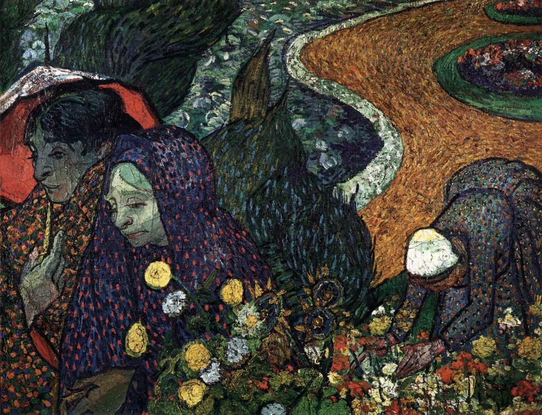 Vincent Van Gogh Ladies Of Arles Memory Of The Garden At Etten 1888 Vincent Van Gogh