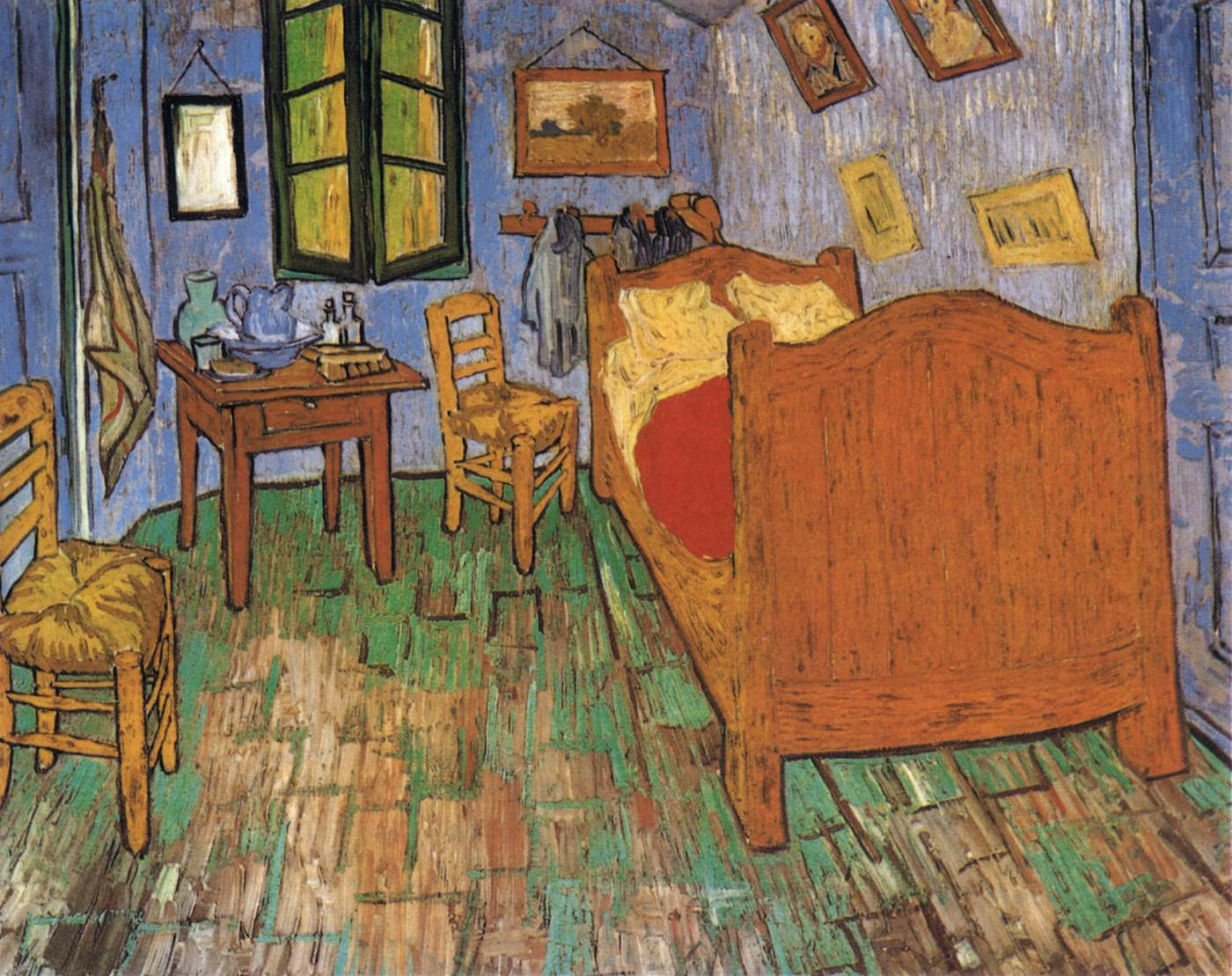 vincent 39 s bedroom in arles by gogh vincent van
