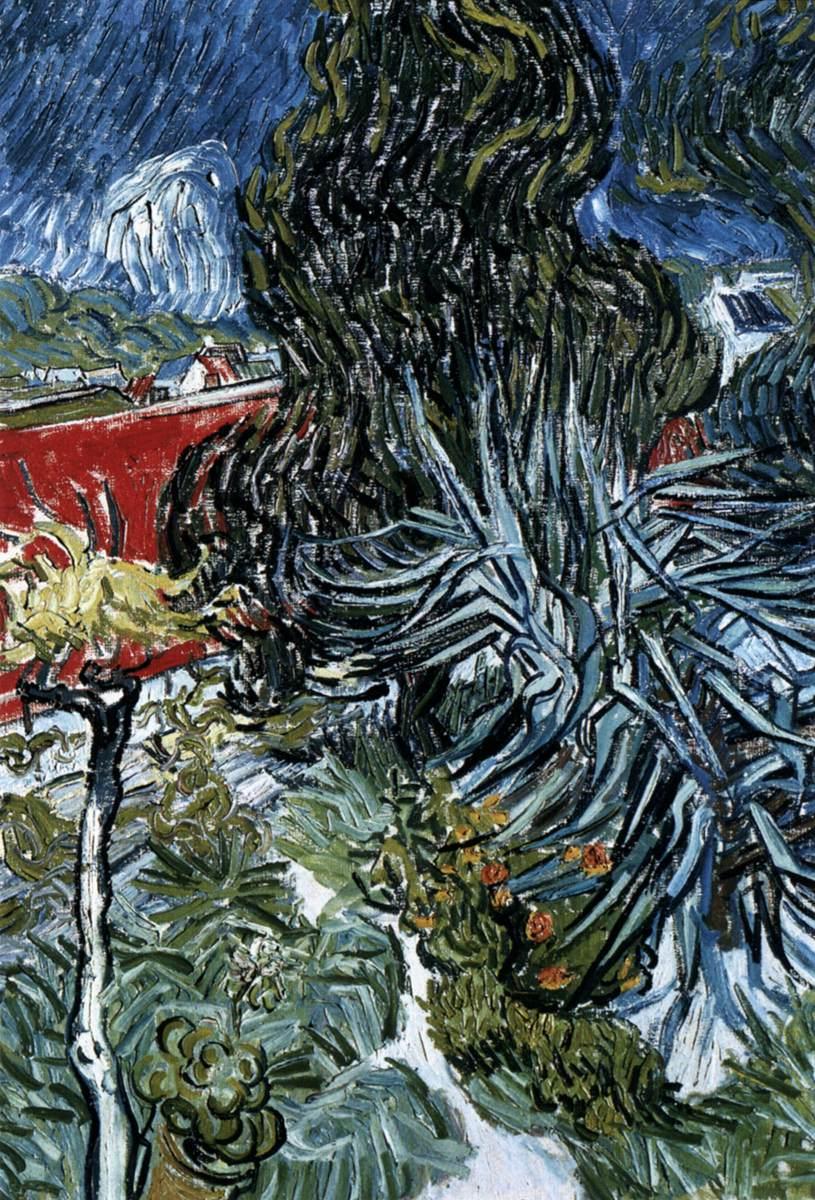 Doctor Gachet 39 S Garden In Auvers By Gogh Vincent Van