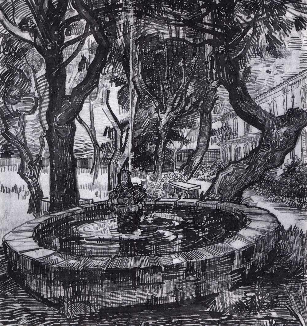 Drawings Saint R 233 My Auvers Sur Oise 1889 90
