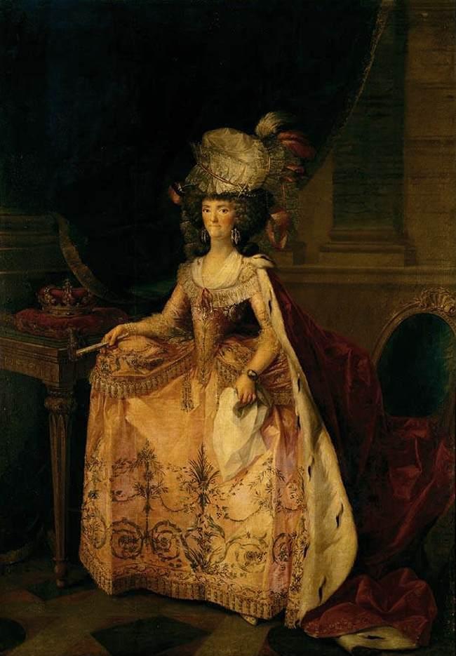 Maria Luisa of Parma Portrait of Queen of Spain
