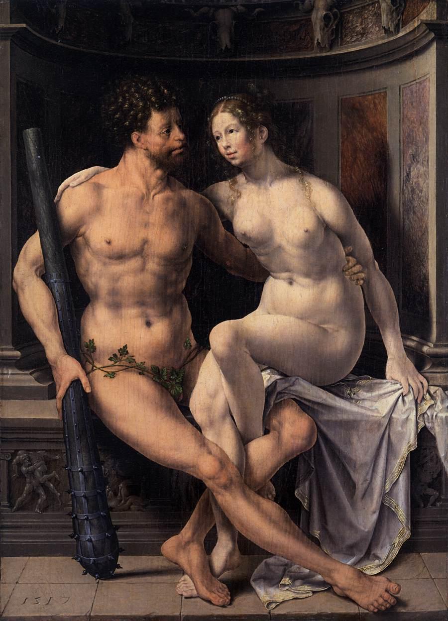 Hercules and Deianira by GOSSART, Jan