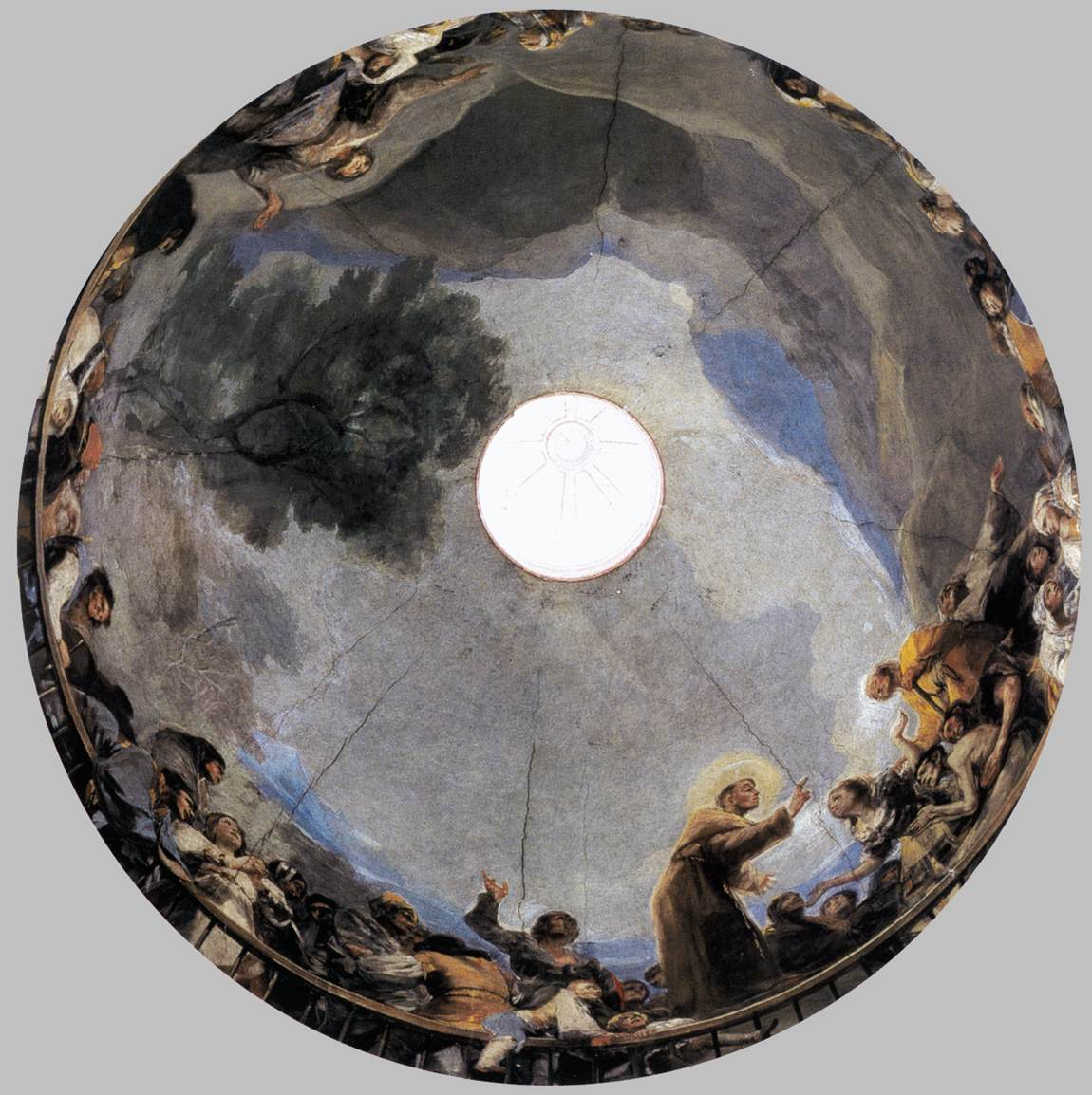 The Miracle of St Anthony by GOYA Y LUCIENTES, Francisco de