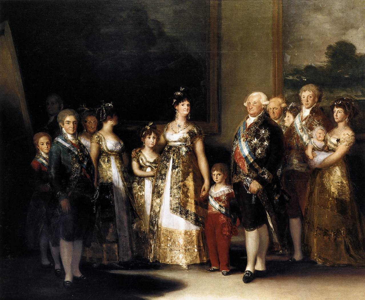 Goya, Charles IV, king of Spain, and his family