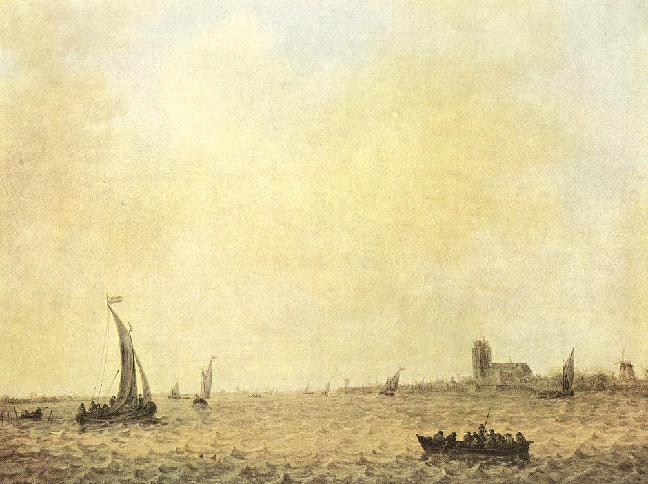 Jan van Goyen, gezicht op Dordrecht
