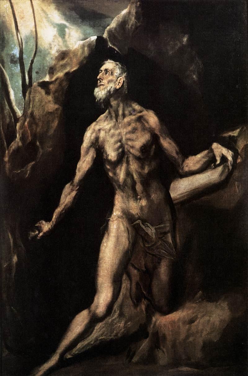 Penitent Jerome - El Greco