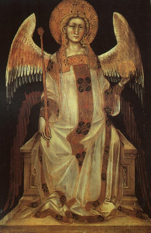GUARIENTO d'Arpo  Angel, 1354