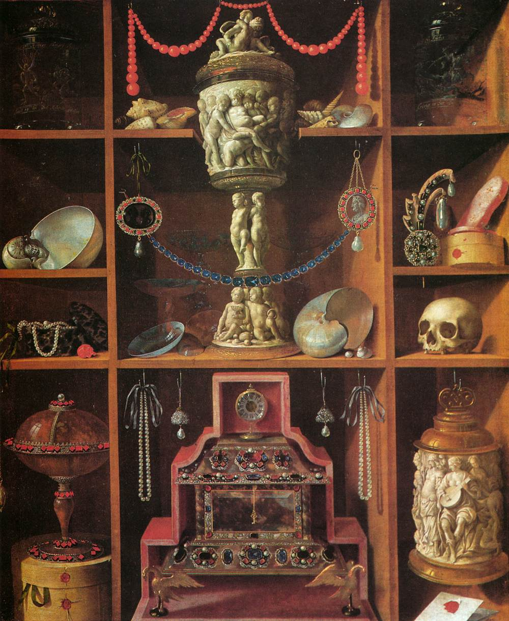 Cabinets Of Curiosities By Hainz Georg