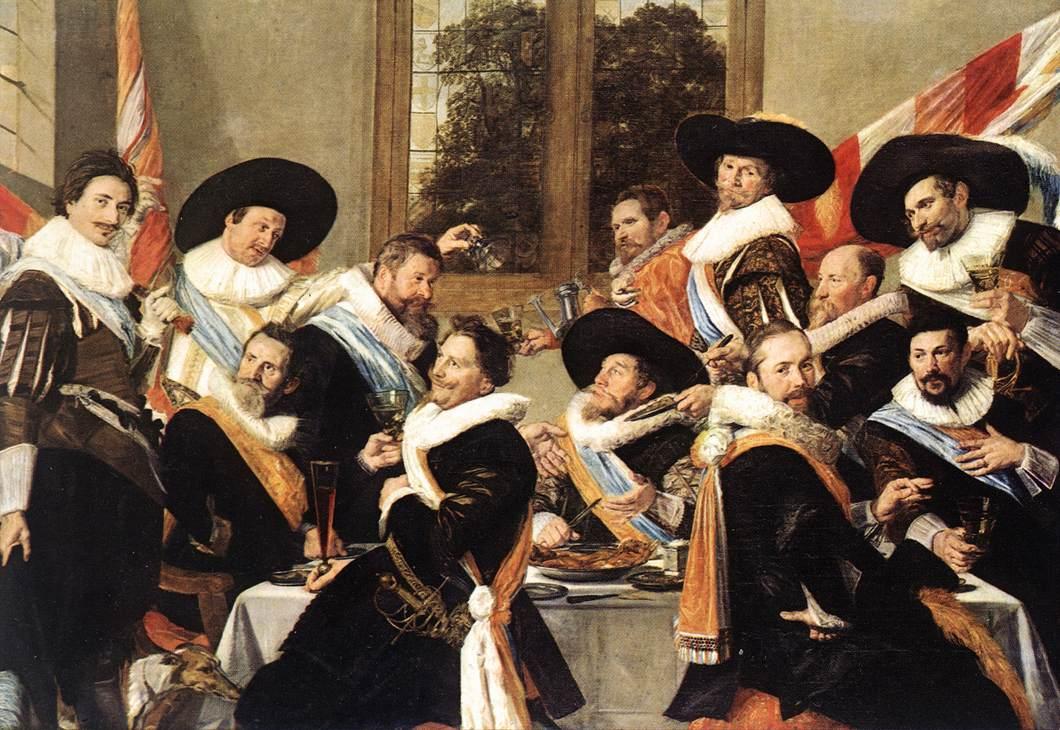 Edwige eichenlaub portraits de groupe et la ronde de nuit - Histoire des arts la chambre des officiers ...