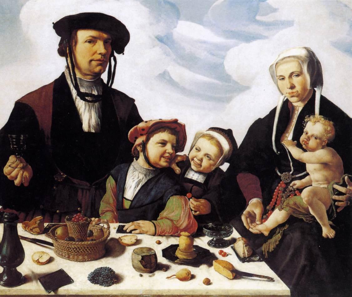 heemskerck maerten van b 1498 heemskerck d 1574 haarlemOld Family Painted Portraits