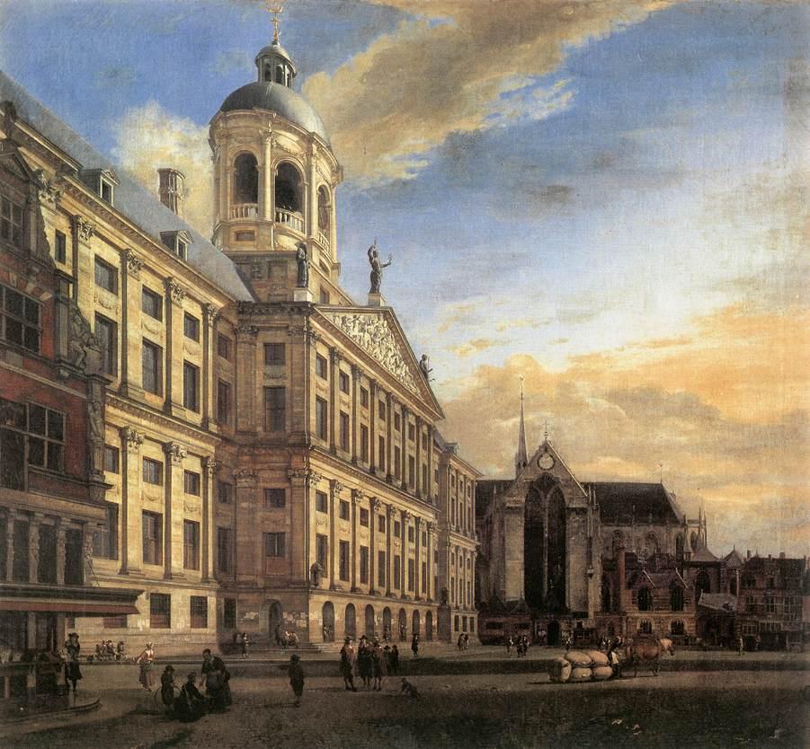 h m dam square amsterdam