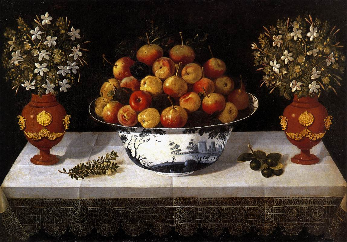 Still-Life with Fruit and Flowers by HIEPES, Toms