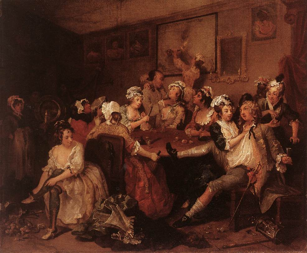 William Hogarth The Orgy 91