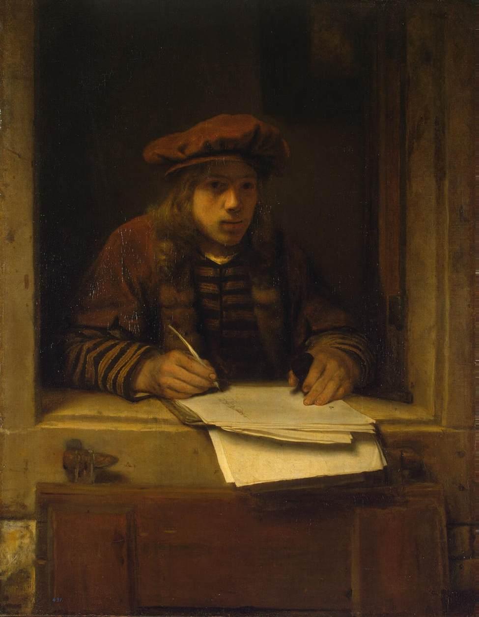 HOOGSTRATEN, Samuel van Self-Portrait 1600s