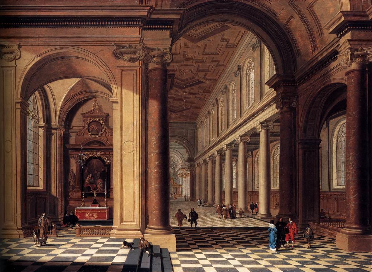 Houckgeest gerard for Classical mural