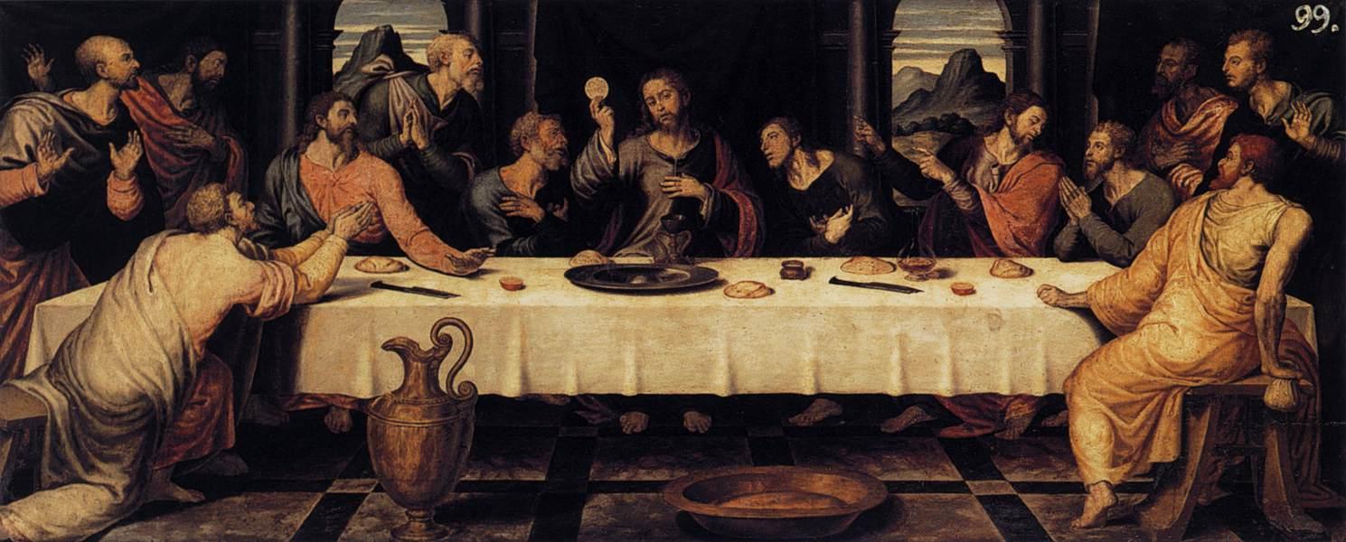 jesus last supper hd wallpaper