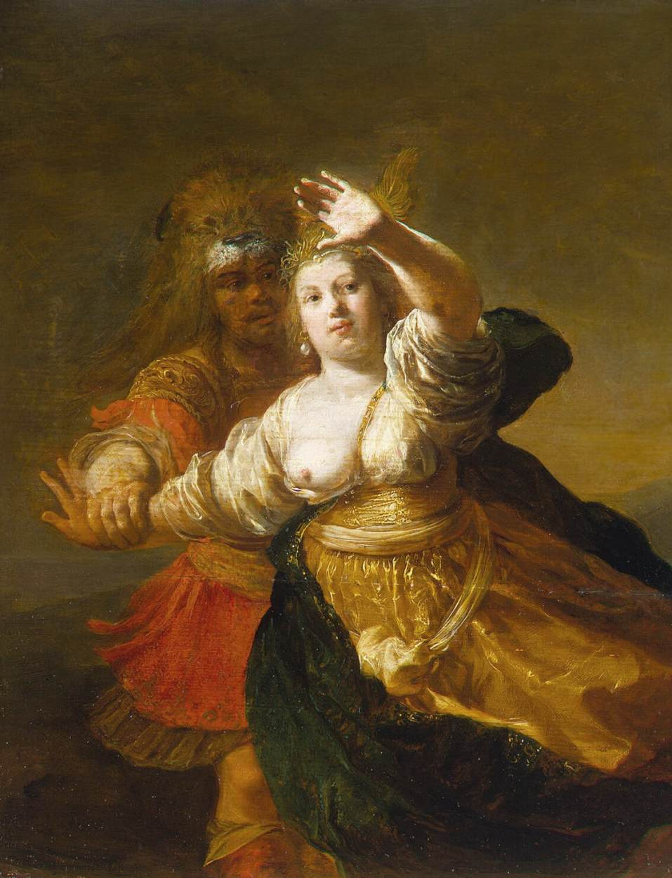 Délicieux La Ceinture D Hippolyte #15: Hercule Et Hippolyte
