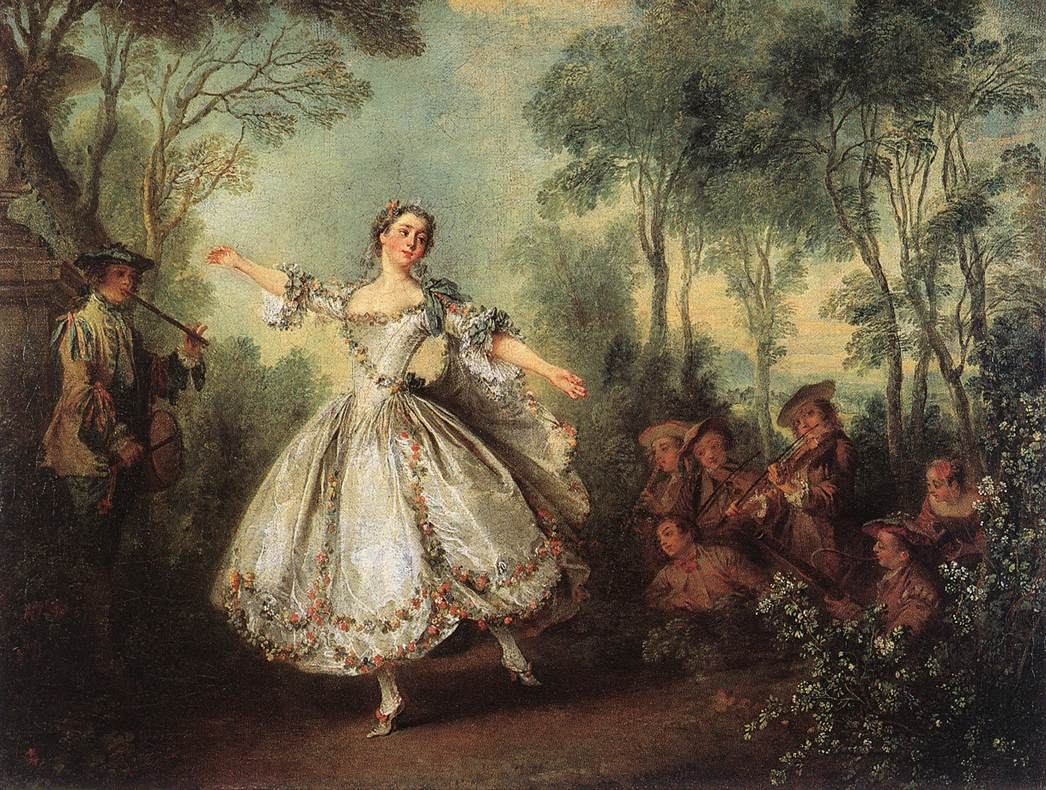 Rococo revisited for Rococo period paintings