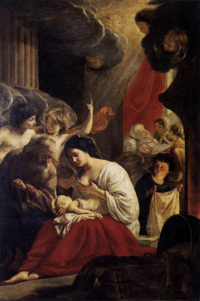 Nascita della Vergine, Notre-Dame Cathedral, Paris dans immagini sacre birth_v