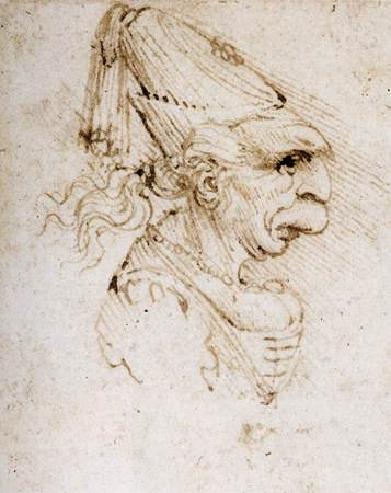 Leonardo Da Vinci Study of Proportions