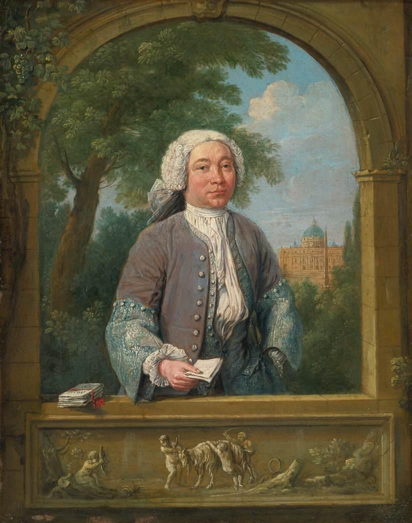 Portrait of Giacomo van Lint by LINT, Hendrik Frans van Nastia Van Lint