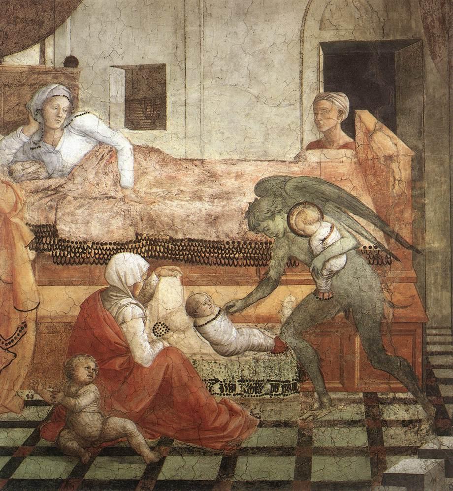 Filippo Lippi, Naissance de saint Etienne
