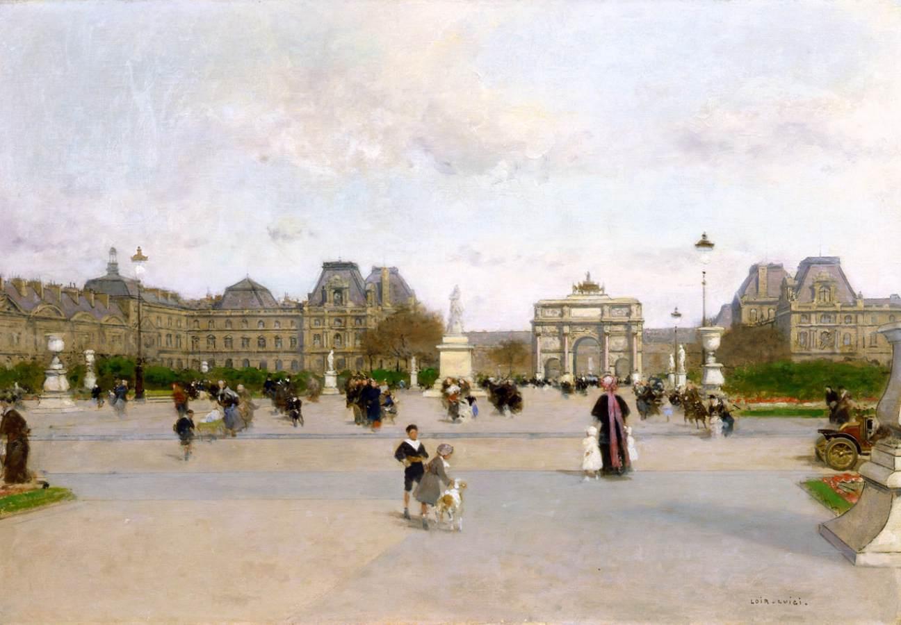 Loir luigi - Sculpture jardin des tuileries ...