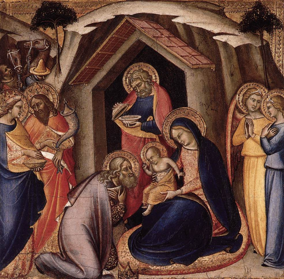 an analysis of the adoration of the magi painting by mariotto di nardo Mariotto di nardo was a painter active in florence from the end of the 14th century until the early part of the 15th century this work is the lower portio.