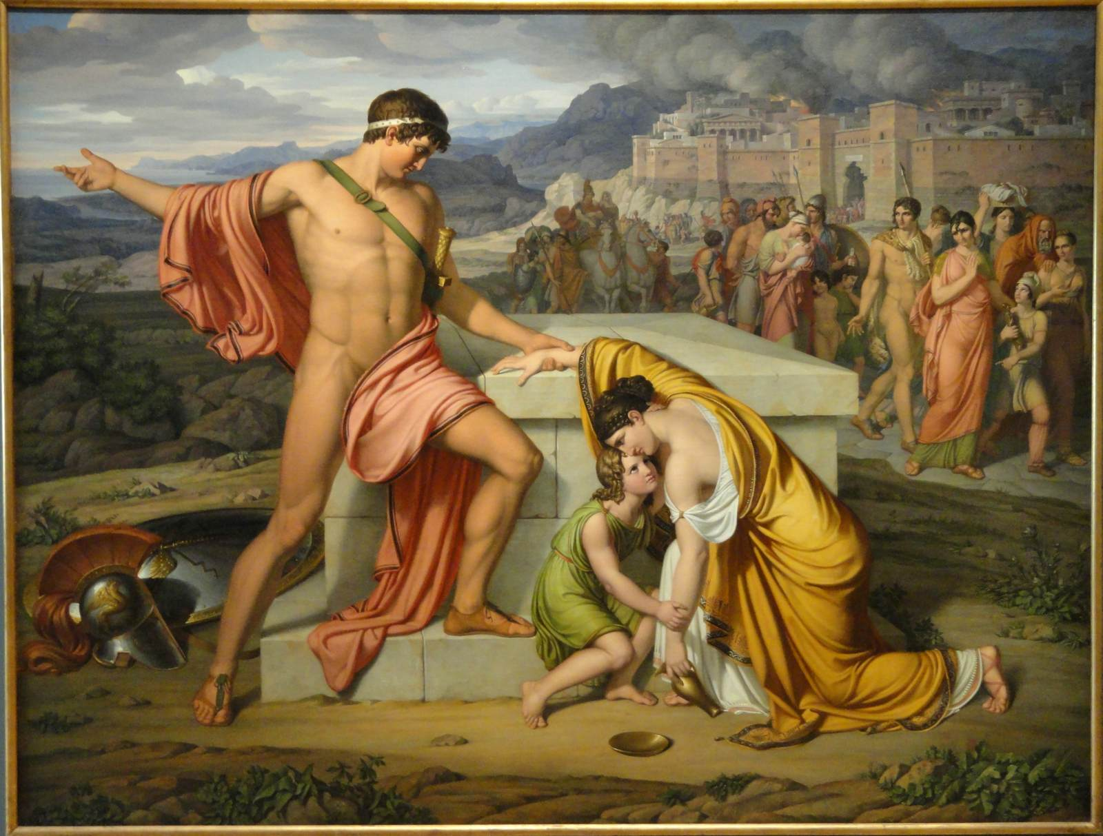 the relationship between homeric greek men and women as described in hector and andromache In the iliad have inherent characteristics that provide the driving force behind  describe the relationship between the gods, perhaps because their immortality, in  hector is a prime example of a human figure who finds himself torn between two forces: his love for his growing family, and his duty as a.