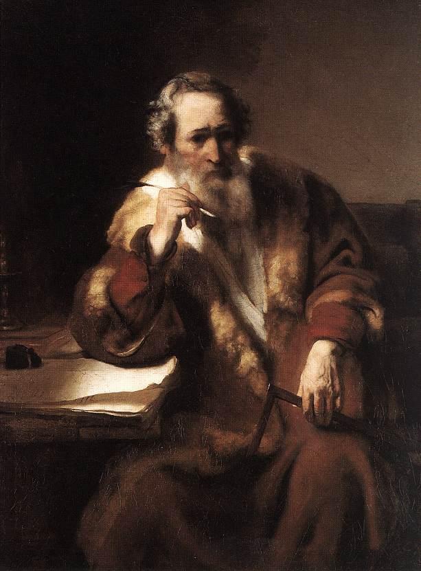 MAES, Nicolaes Apostle Thomas 1656
