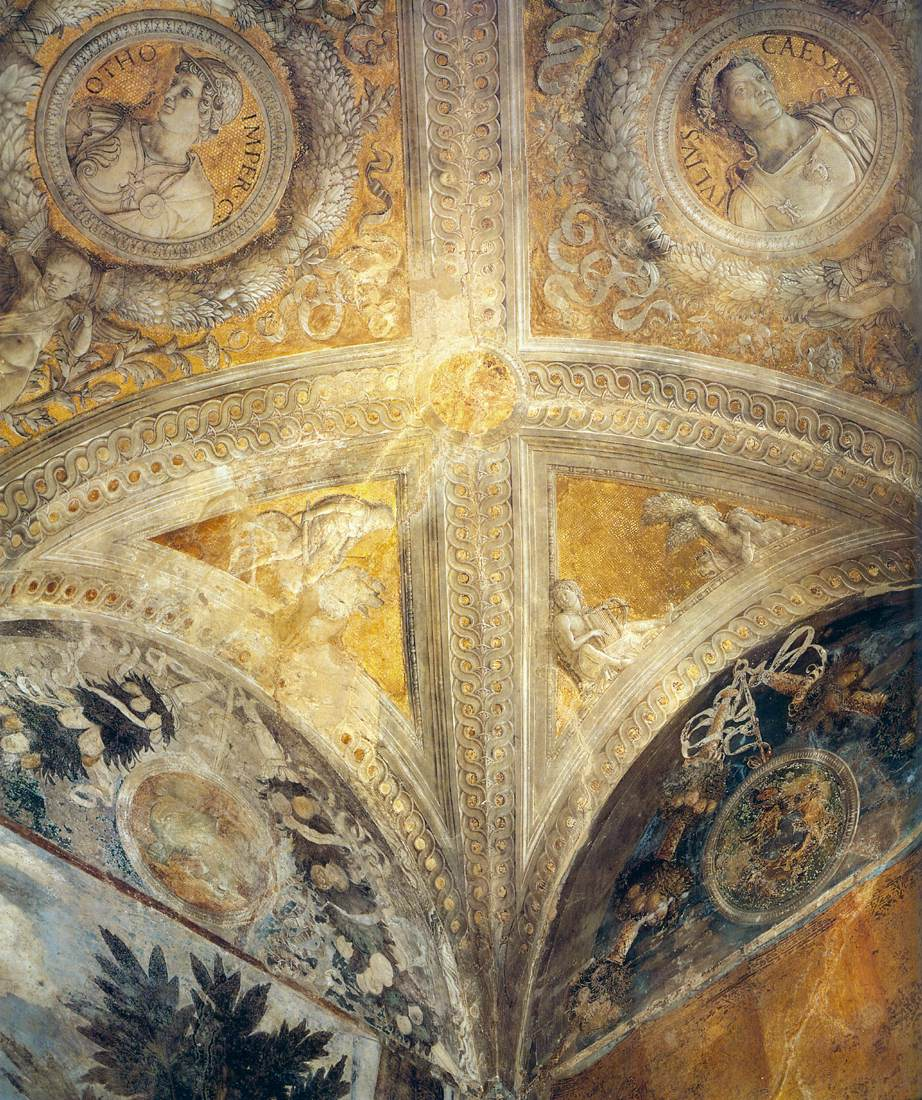 Ceiling detail by mantegna andrea for Camera degli sposi palazzo ducale