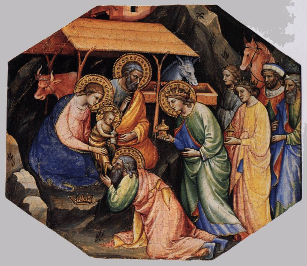 an iconographical analysis of adoration of the magi a painting by di nardo Iconographical analysis off the di nadros painting.