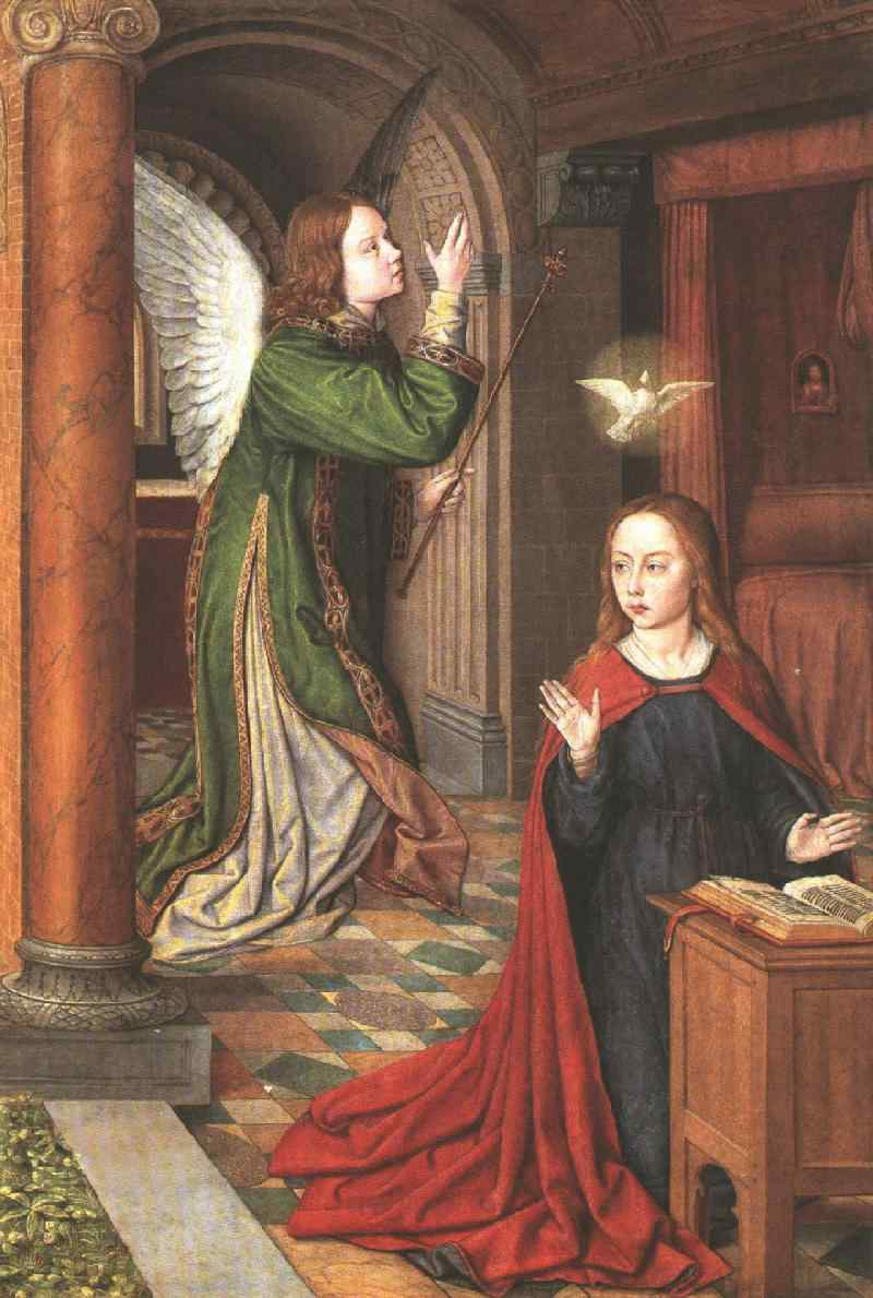 analysis of the annunciation by master Giovanni bellini was an italian above the pietà with the virgin and the angel of the annunciation at the the analysis carried out on the occasion.