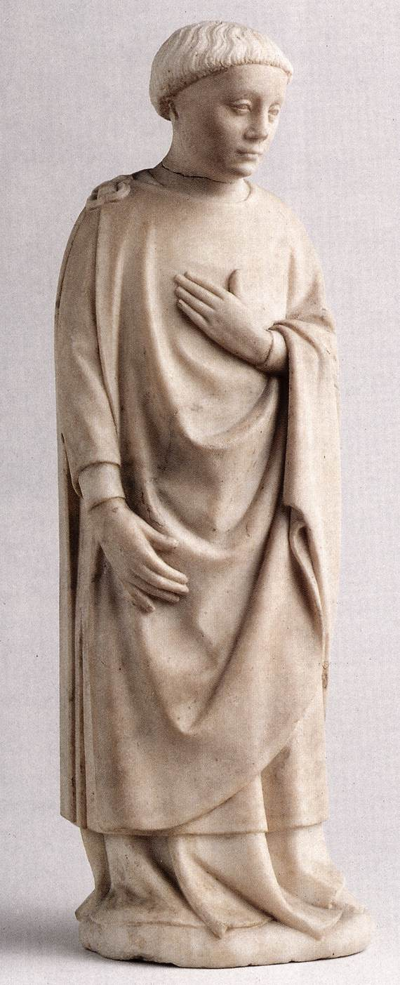 UNKNOWN, French Male mourner 1380-1400