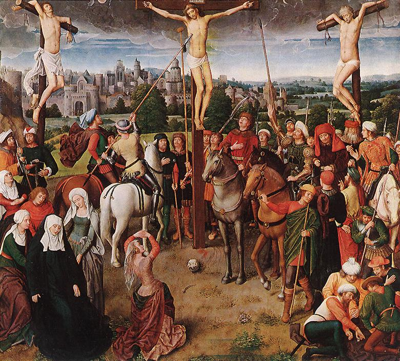 the differences and similarities between the gospels of luke and the crucifixion oil painting Similarities and differences between the gospels, matthew, mark, luke, and john.