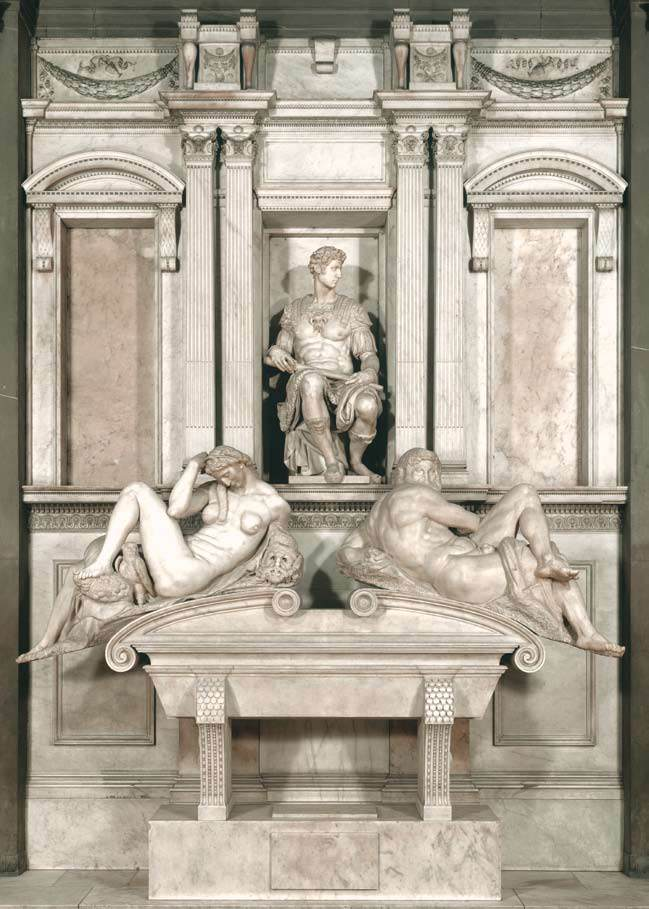 Статуи Микеланджело хранят свою каменную природу