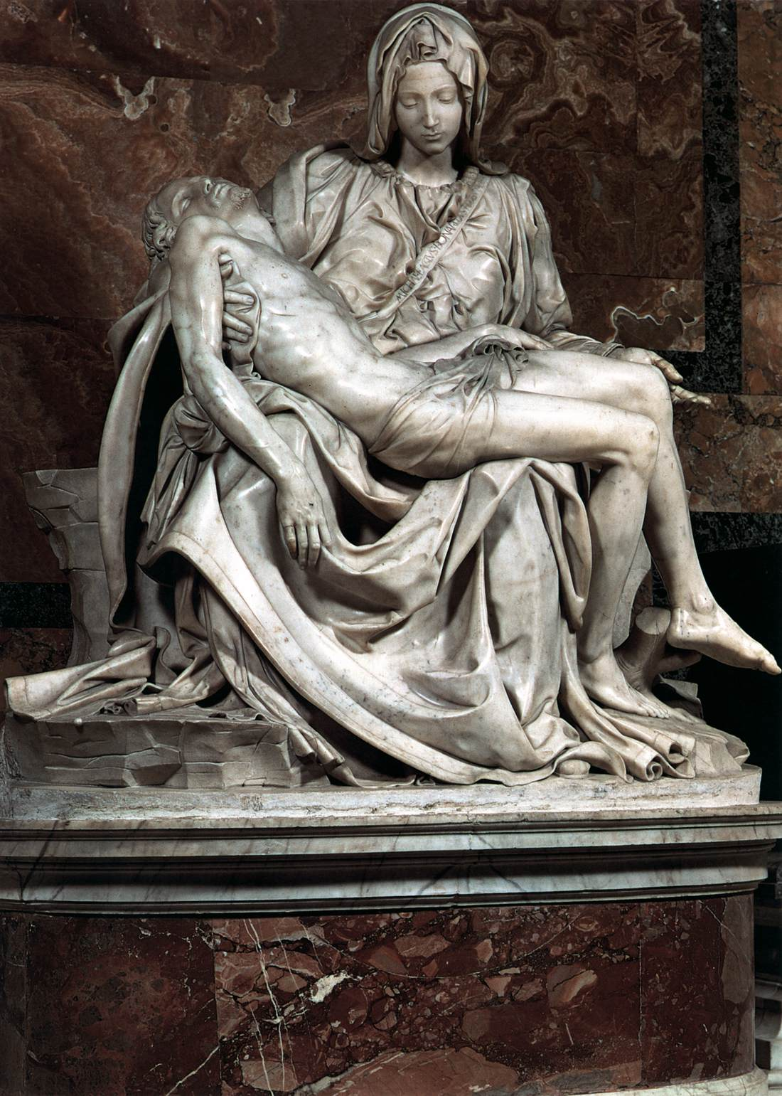 The works of michelangelo one of the greatest artists of all time