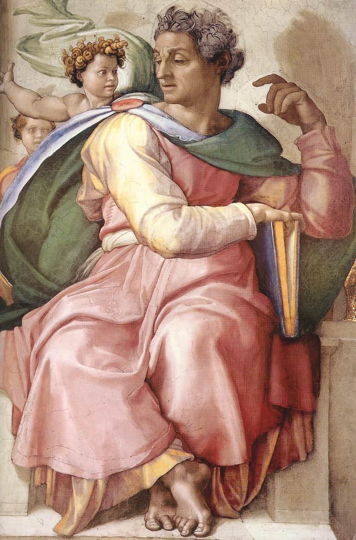 Isaiah by Michelangelo wga.hu