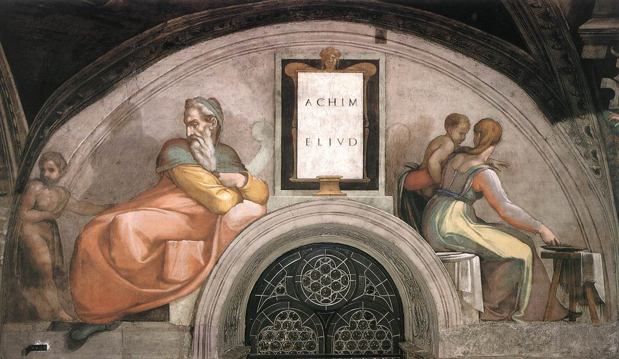 A comparison of the sistine ceiling and the maesta paintings