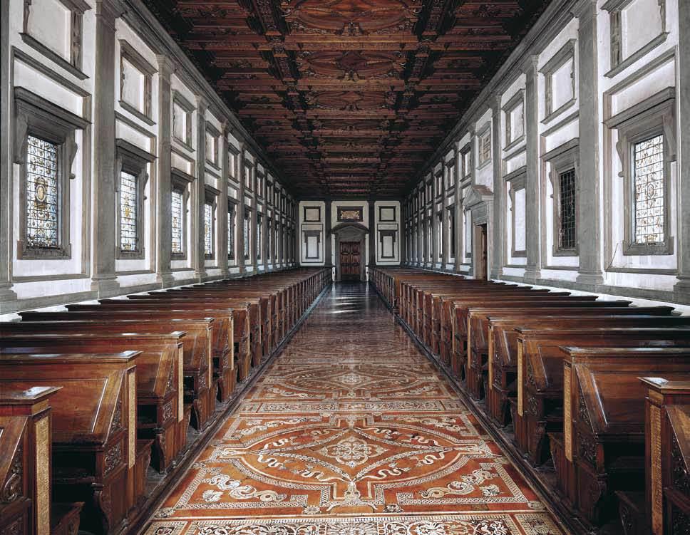 Laurentian Library by MICHELANGELO Buonarroti