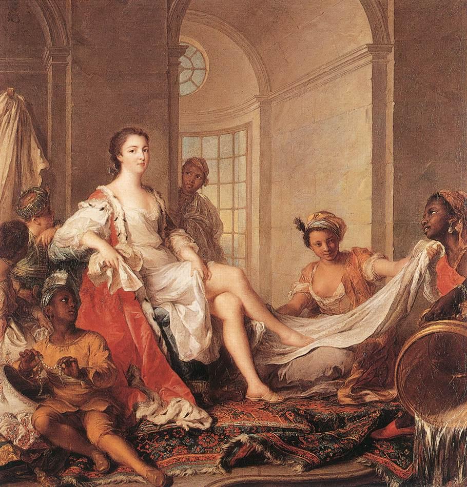 Обнаженные мадемуазели приготовились к ласкам  158910